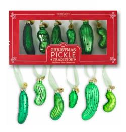 Pickle Ornaments Game