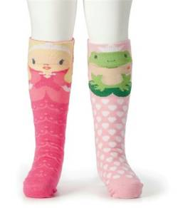 Princess and Frog Knee Socks THUMBNAIL