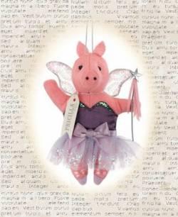 Priscilla the Pig Sugarplum Fairy Ornament