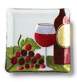 Red Wine Plate