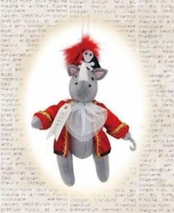 Ronald the Rhino Sea Captain Ornament