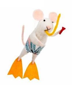 Mouse in Scuba Gear
