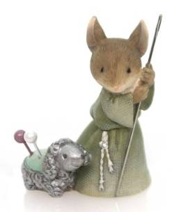 Shepherd Mouse with Lamb THUMBNAIL