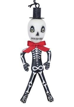 Skelly Skeleton Tin Ornament