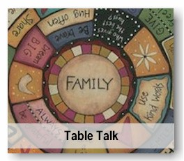 Dice, Coasters, plates, games centered around Family and Faith