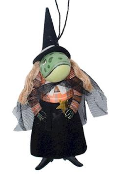 Winifred Toad Witch Tin Ornament