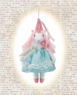 Yasmin the Unicorn Princess Ornament