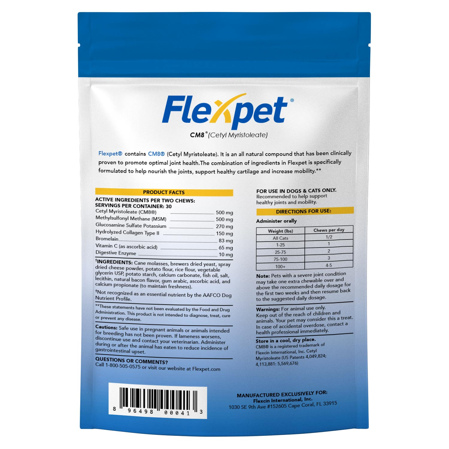 Flexpet Soft Chew Trial Pack Mini-Thumbnail