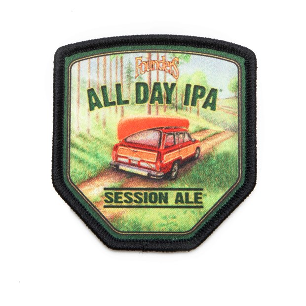 All Day IPA Patch LARGE