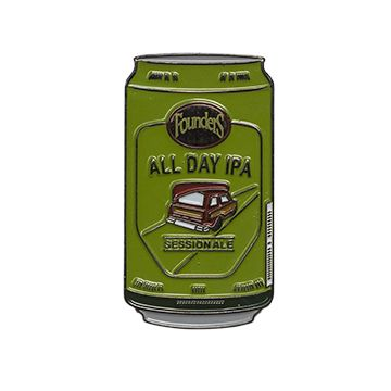 All Day IPA Beer Can Pin LARGE