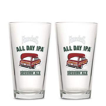 All Day IPA Pint Glass THUMBNAIL
