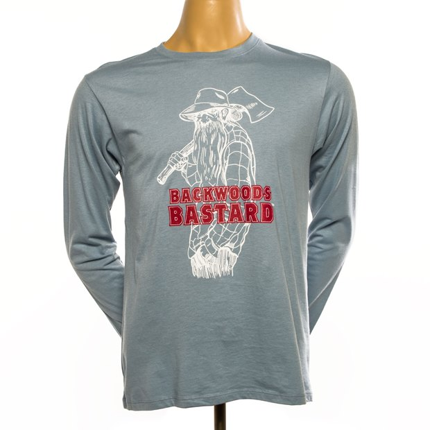 Backwoods Bastard Long-Sleeve Tee - Steel Blue THUMBNAIL
