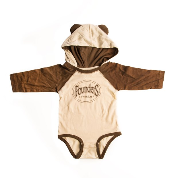 Founders Bear Ear Romper THUMBNAIL