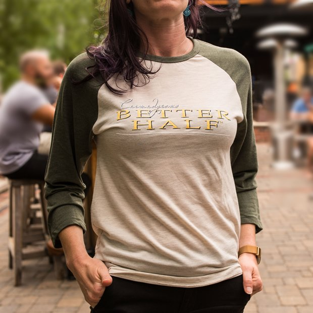 Curmudgeon's Better Half Baseball Tee THUMBNAIL