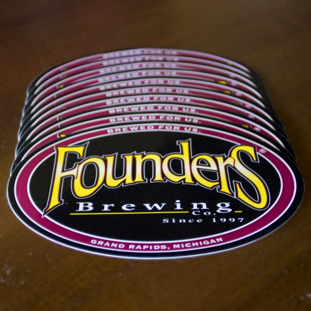 Founders Bumper Sticker LARGE