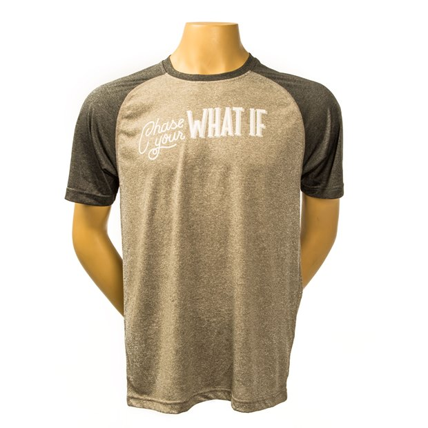 Chase Your What If Athletic Shirt THUMBNAIL