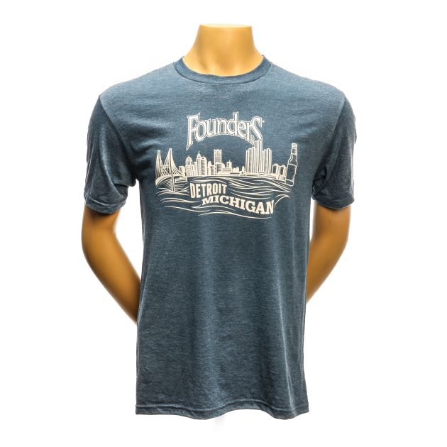 Detroit River Skyline Tee THUMBNAIL