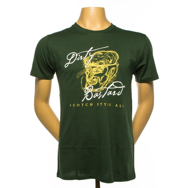Dirty Bastard Tee - Green THUMBNAIL