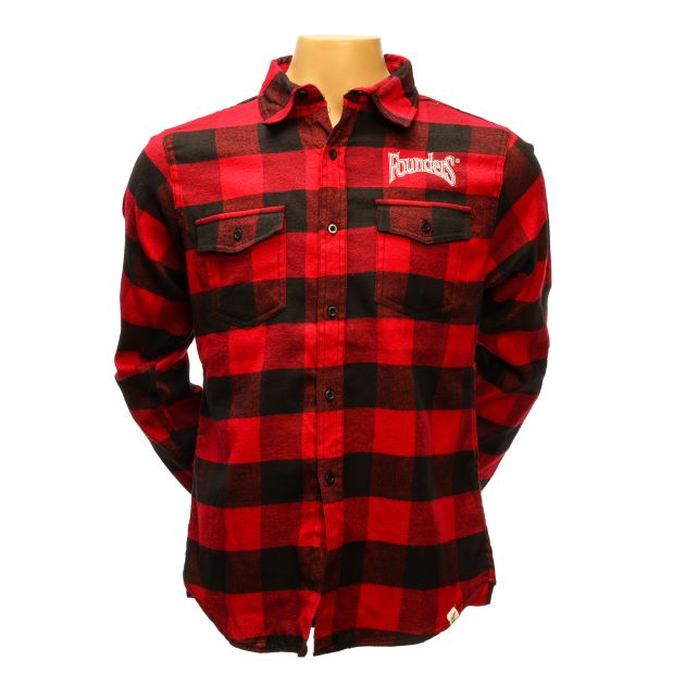 Flannel Shirt - Red/Black THUMBNAIL