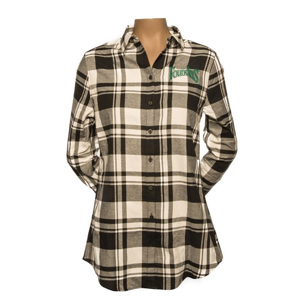 Women's Flannel Tunic THUMBNAIL