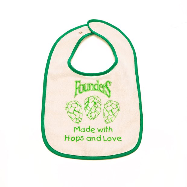 Hops and Love Bib THUMBNAIL