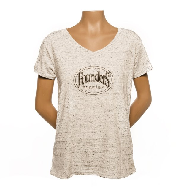 Women's Logo V-Neck LARGE