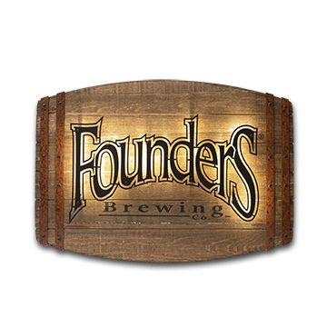 Founders Wood LED Sign LARGE