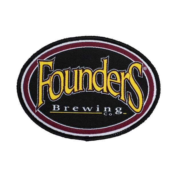 Founders Oval Logo Patch THUMBNAIL