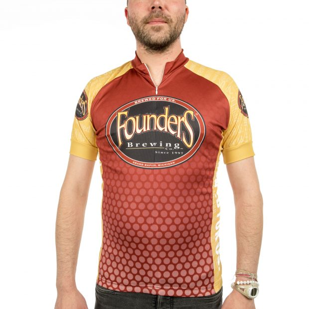Founders Bicycle Jersey - Red THUMBNAIL