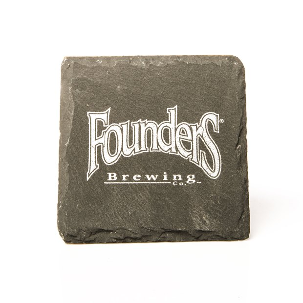 Founders Logo Slate Coaster LARGE