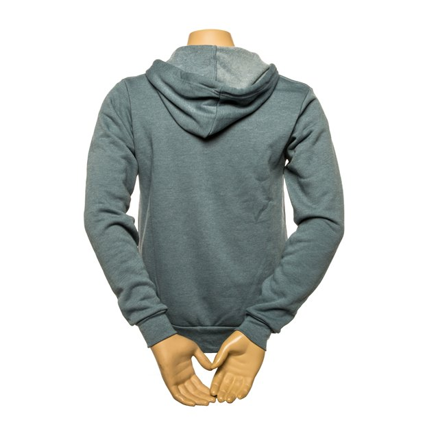 Founders Logo Full-Zip Hoodie - Heather Slate SWATCH