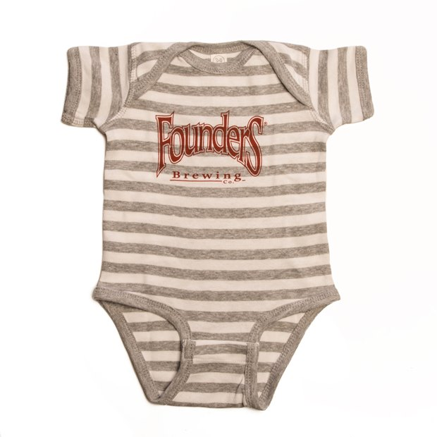 Founders Striped Romper LARGE
