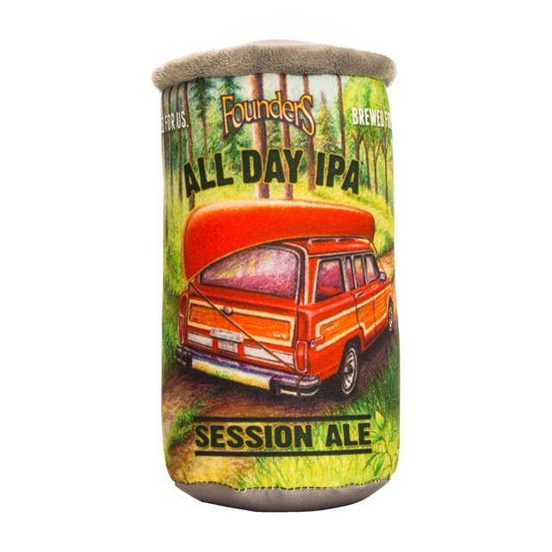 All Day IPA Plush Can Dog Toy THUMBNAIL