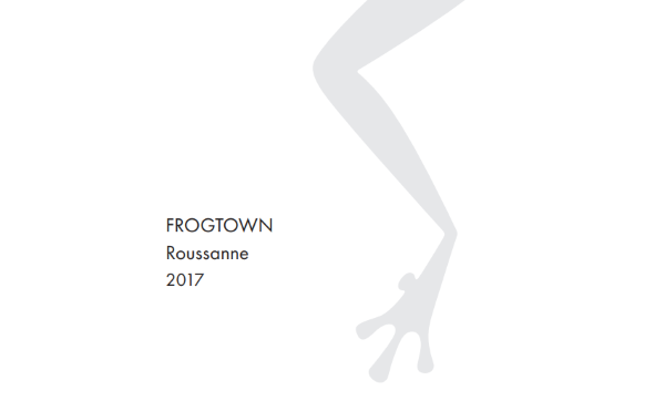 Frogtown Roussanne 2017 MAIN
