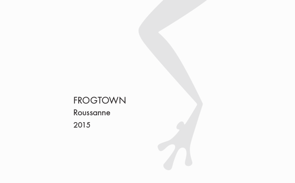 <b>Frogtown</b></br>Rousanne</br>2015_MAIN