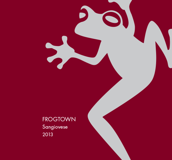 Frogtown Sangiovese 2013 MAIN