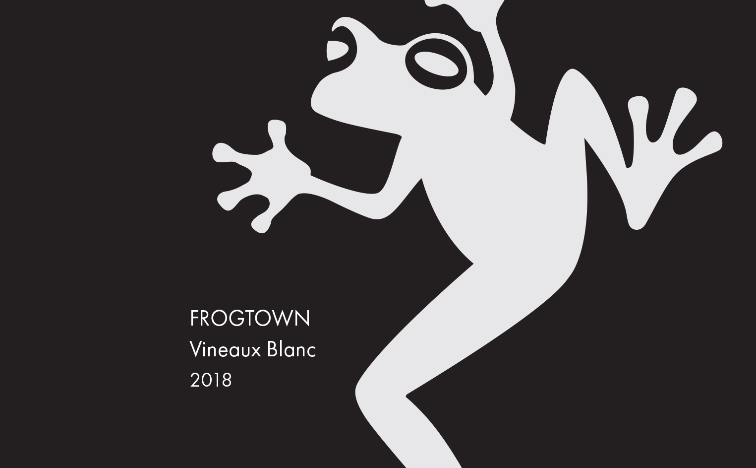 <b>Frogtown</b></br>Vineaux Blanc</br>2018 MAIN