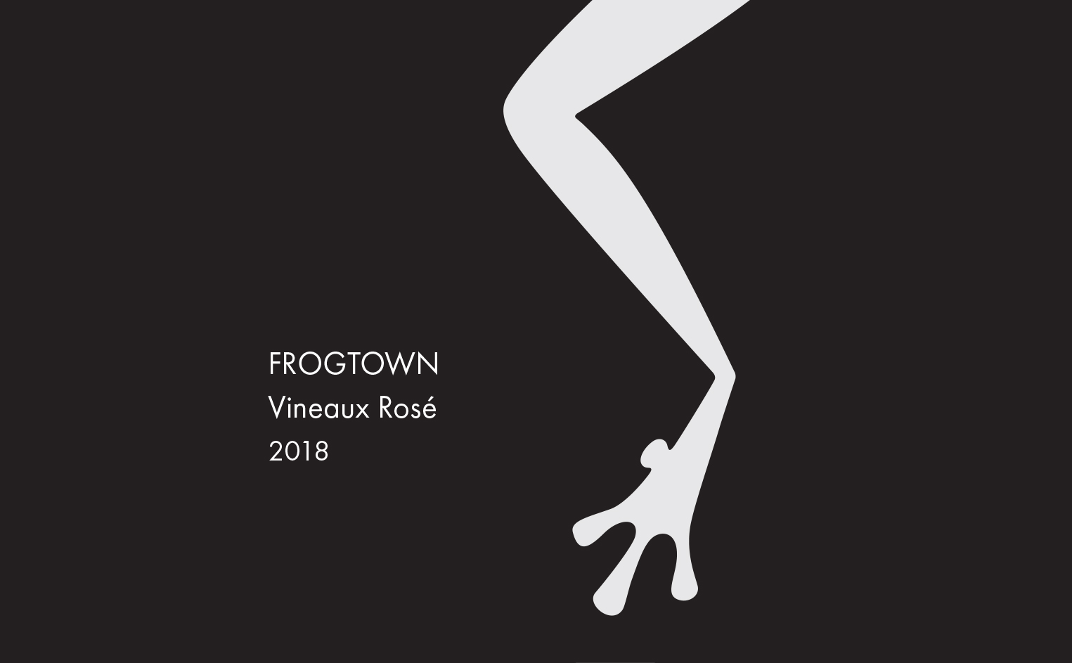 <b>Frogtown</b></br>Vineaux Rosé</br>2018 MAIN
