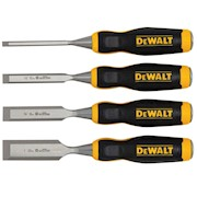 DeWalt 4 Wood Chisel Set THUMBNAIL