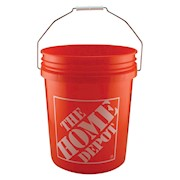 Home Depot 5-Gallon Homer Bucket THUMBNAIL