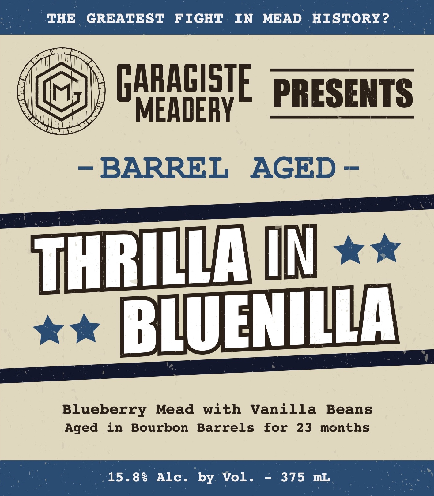 Bourbon BA Thrilla in Bluenilla 375mL MAIN