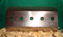 "9 1/2"" x 5"" x 5/8"" Double Edged Knife MAIN"
