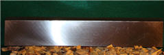 "16"" x 3"" x 3/8"" Single Edged Knife Tapered"