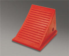 "8"" Urethane Heavy Duty Wheel Chock"