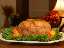 4 lb. Glazed Sliced Smoked<br>Turkey Breast MAIN