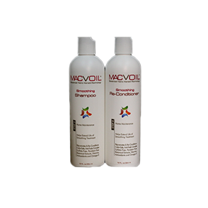 MacVoil Smoothing Hair Care Line