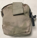 Army Medic Pocket, zippered goes with 4150 Pack THUMBNAIL