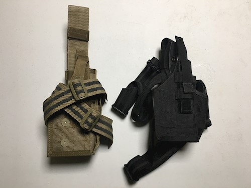 Blackhawk Omega VI Assault Tactical Holster for Beretta 92F / SW & Similar LARGE