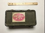 Army WWII Jeep Vehicle 1st Aid Kit THUMBNAIL