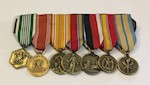 Collection of Seven Mini Medals THUMBNAIL
